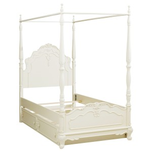 Twin Canopy Poster Bed/1386TPP-1*