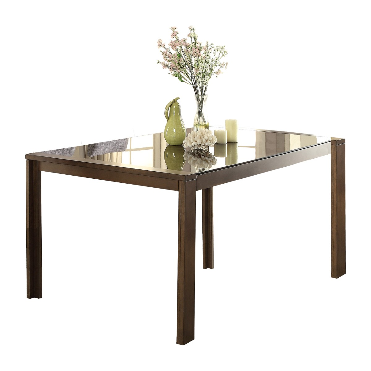 5525 72 Dining Table Black Glass Insert