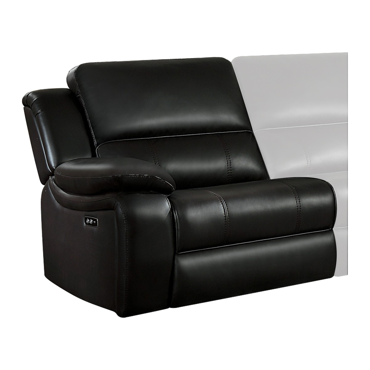 8260db Lrpw Power Left Side Reclining Chair With Usb Port