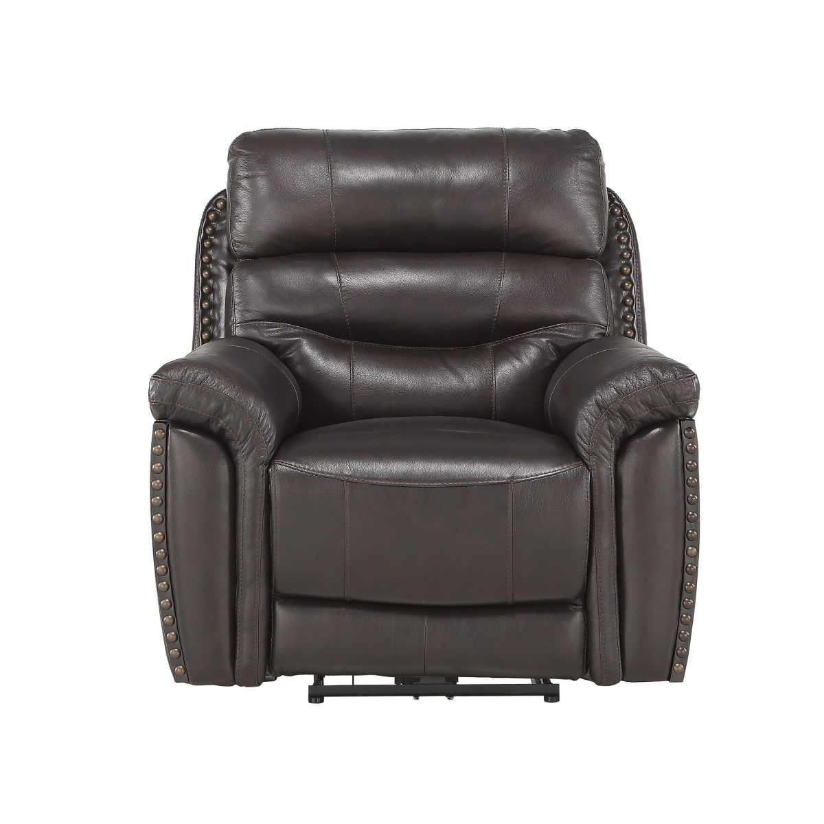 9527brw 1pwh Power Reclining Chair With Power Headrest And