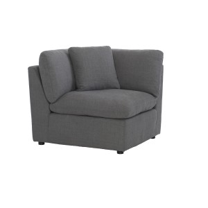 Corner Seat with 1 Pillow/9544GY-CR