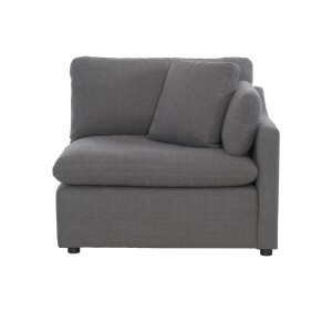 Right Side Chair with 1 Pillow/9544GY-R