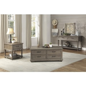 Sofa Table with Two Functional Drawers/1689BR-05