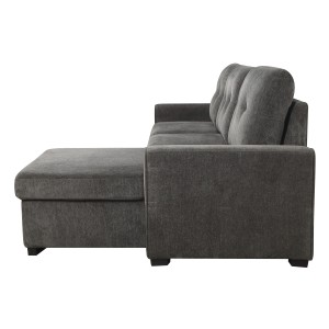 2-Piece Reversible Sectional with Storage/9402DGY*SC