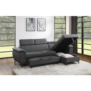 2-Piece Reversible Sectional/9403GY*SC