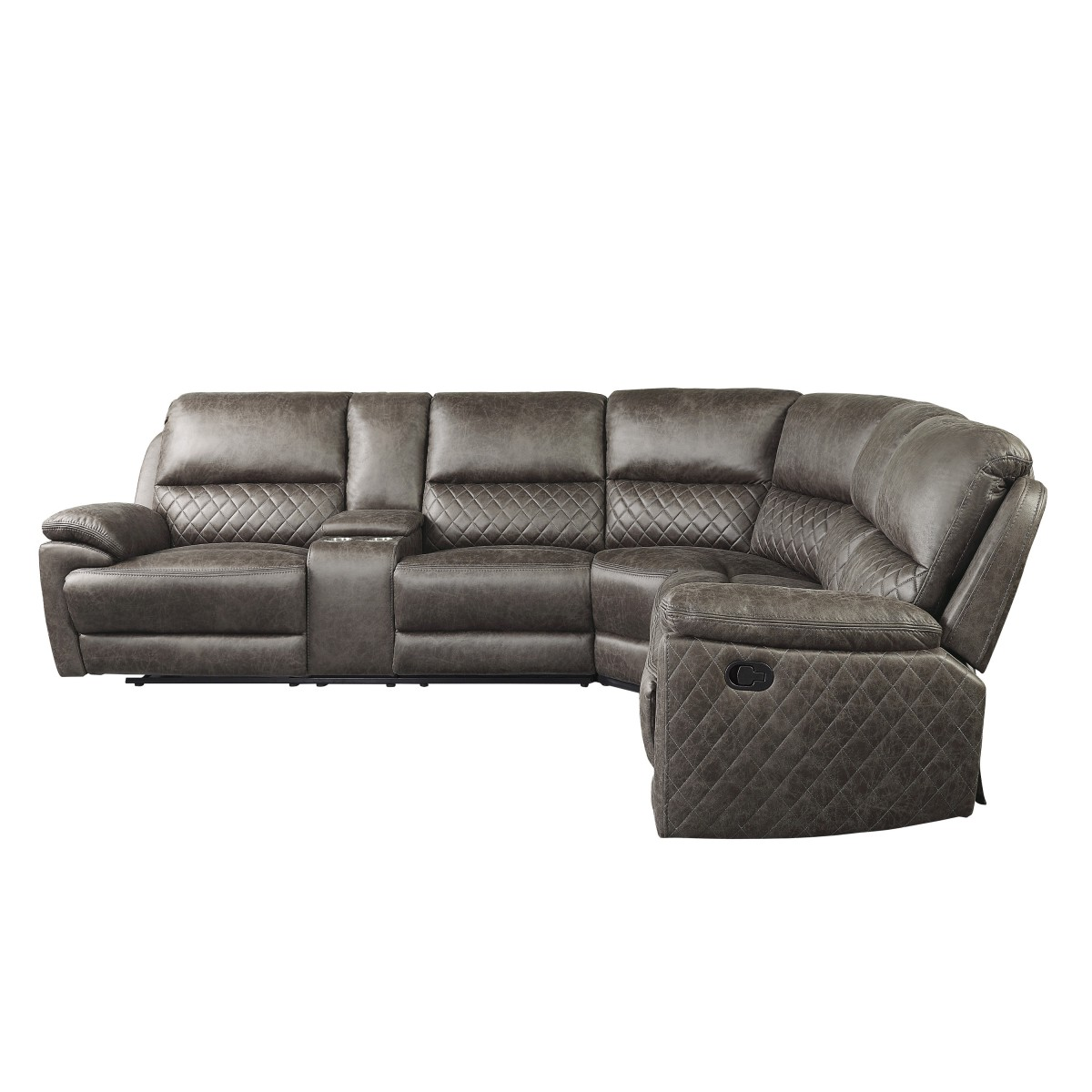 9510 Sc 3 Piece Reclining Sectional