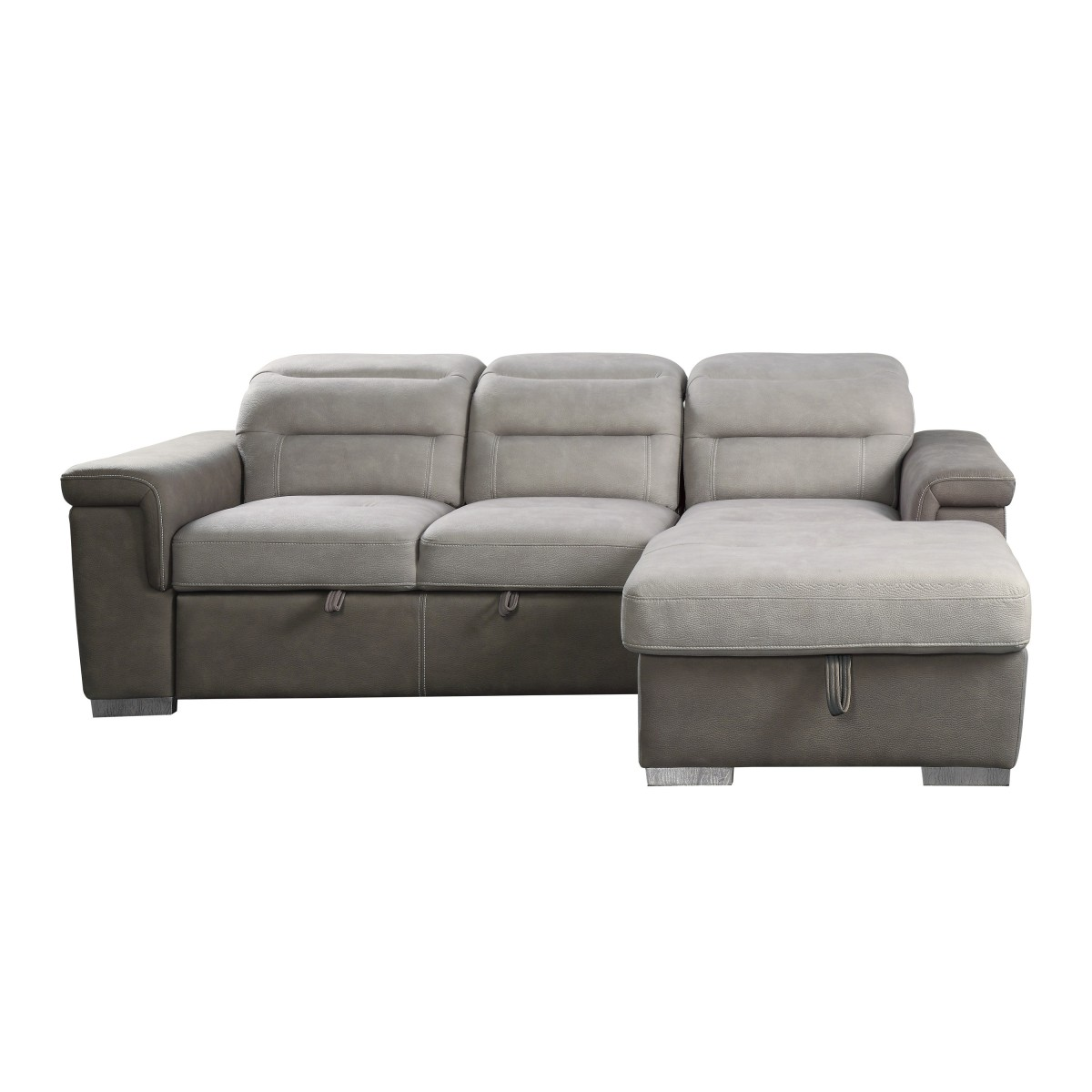 9808 Sc 2 Piece Sectional With Pull Out