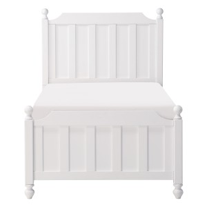 Twin Bed, White/1803WT-1*