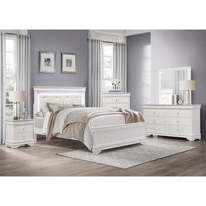 Queen Bed with LED Lighting/1556W-1*