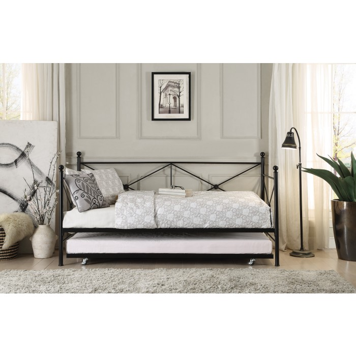 Daybed with Trundle/4964BK-NT