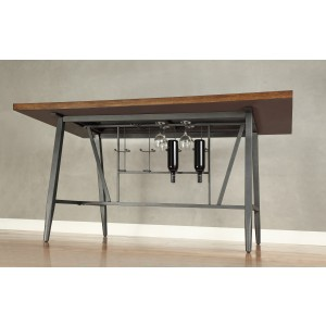 Counter Height Table, Glass Insert/5489-36*