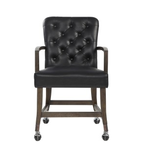 Arm Chair with Casters/5609A