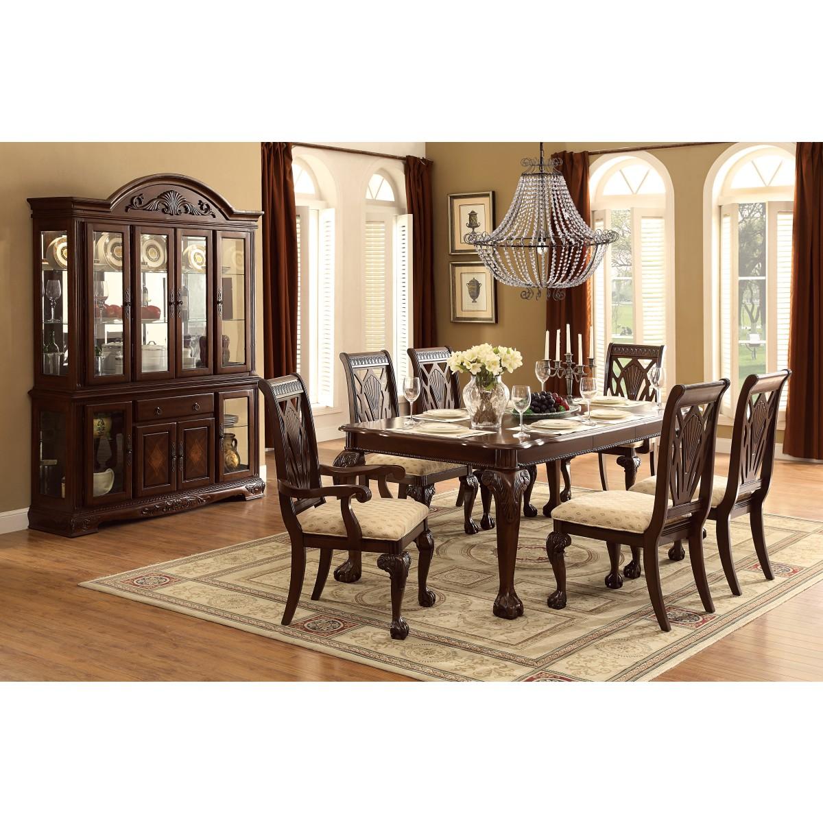 Dining Room Table For 10: Homelegance