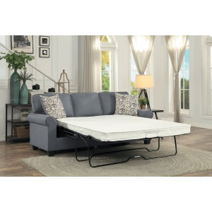Sofa with Sleeper/9938GY-3SL